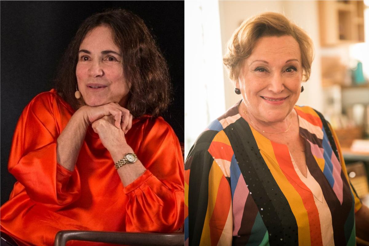 Regina Duarte e Nicette Bruno