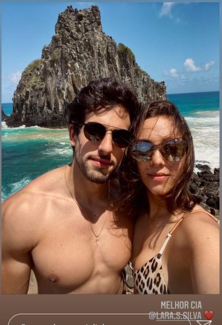 Julinho Casares e Lara Silva