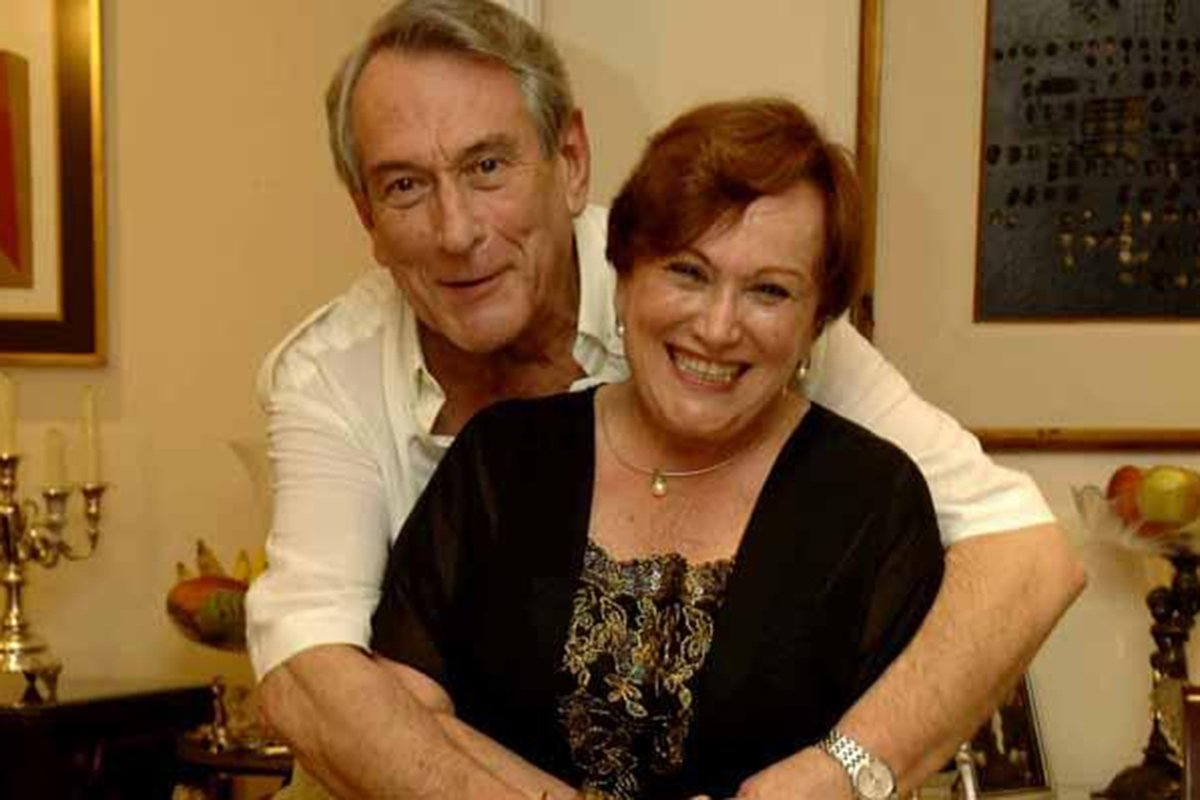 Paulo Goulart e Nicette Bruno