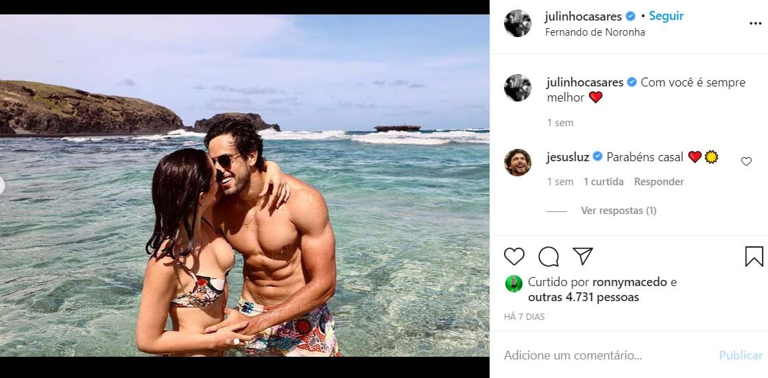 Lara Silva e Julinho Casares