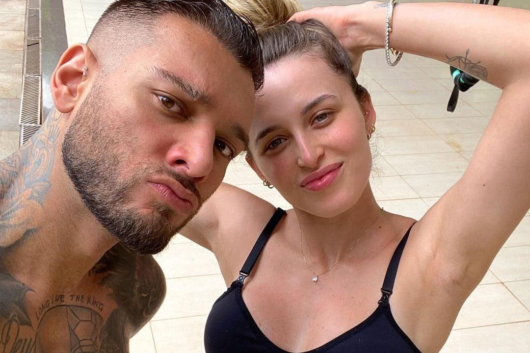 Lucas Lucco e Lorena - reprodução - instagram