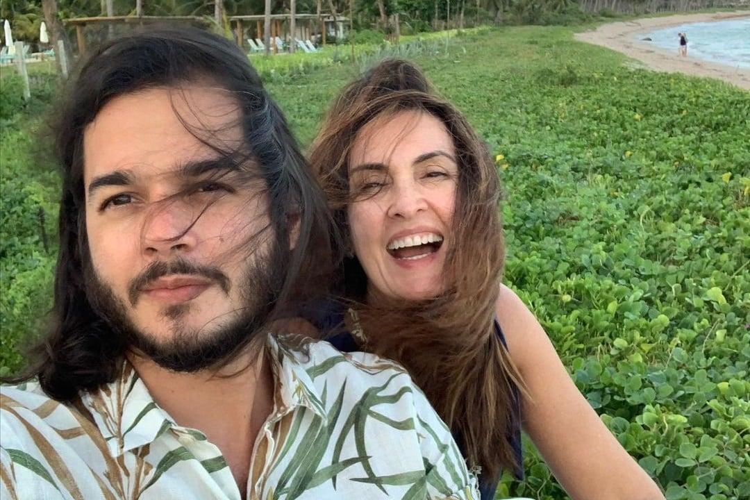 Túlio Gandêlha e Fátima Bernardes - reprodução - instagram