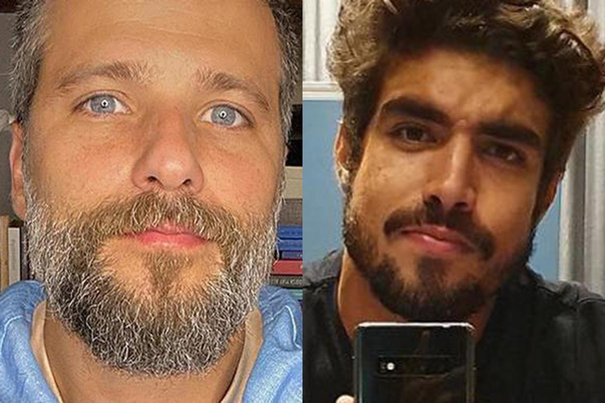 Bruno Gagliasso e Caio Castro