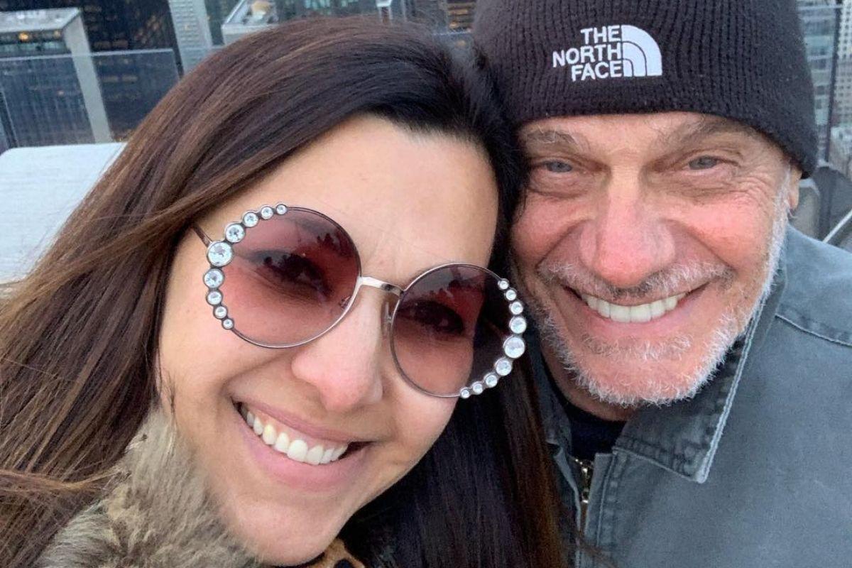 Veruska Seibel e Ricardo Boechat