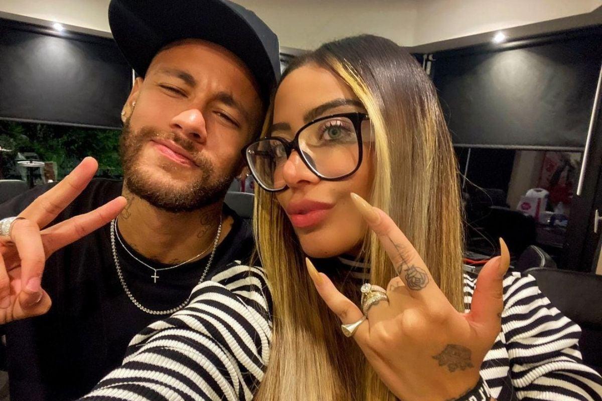 Neymar Jr. e Rafaella Santos