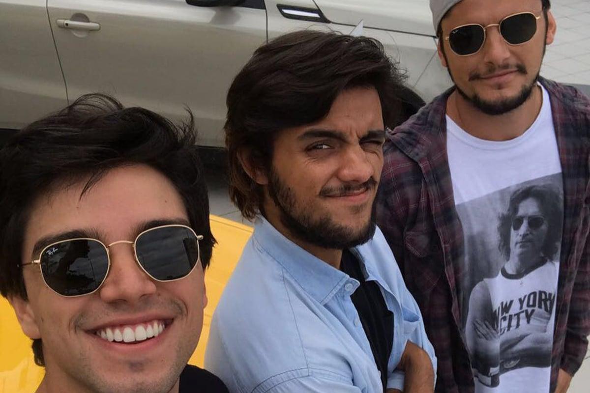 Rodrigo Simas, Felipe Simas e Bruno Gissoni