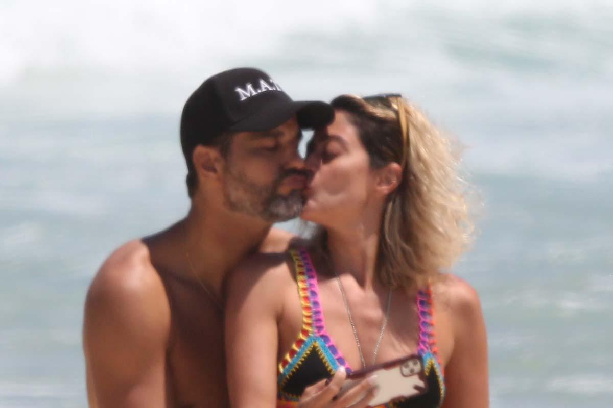 Bruno Cabrerizo e Carol Castro
