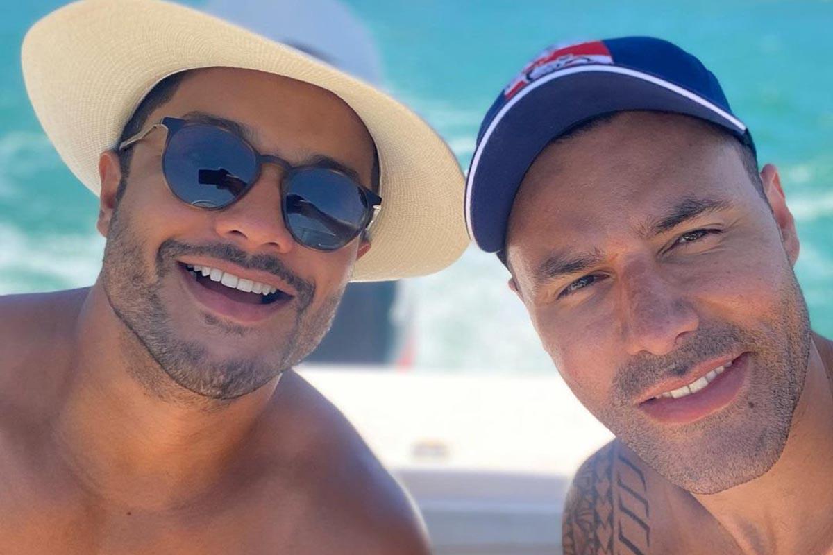 Junior Figueiredo e Rodrigo Sant'anna