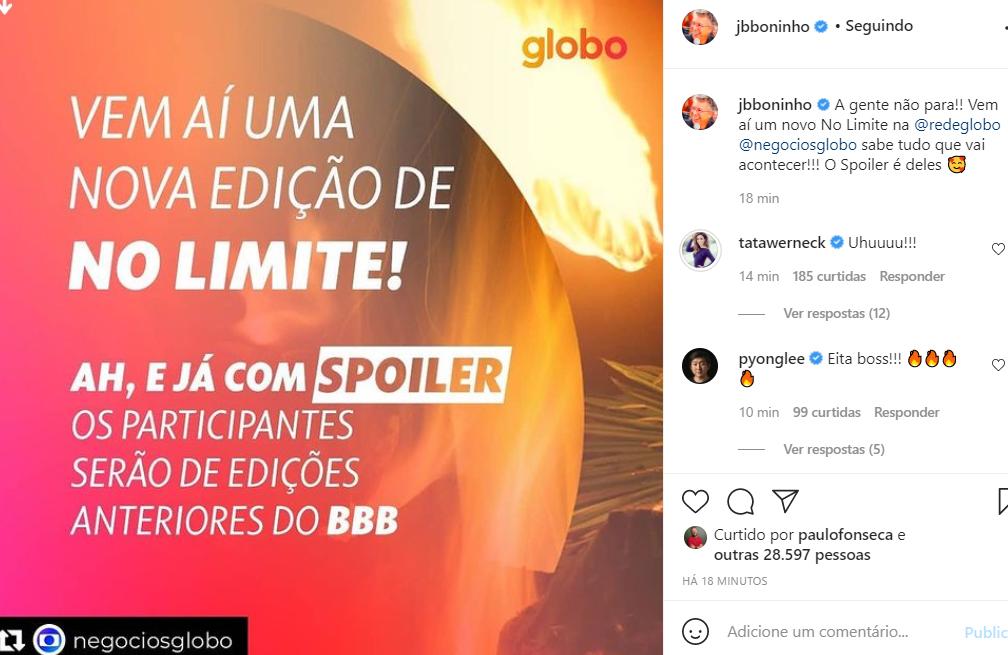 Globo revela nova temporada do No Limite