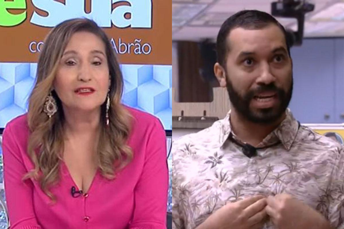 Sonia Abrão e Gilberto