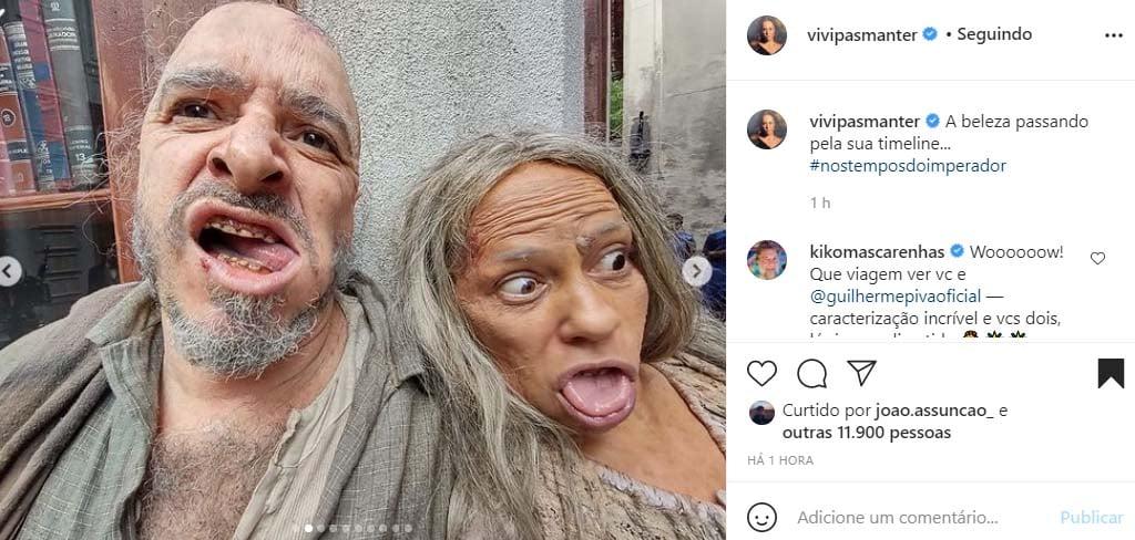 Vivianne Pasmanter e Guilherme Piva