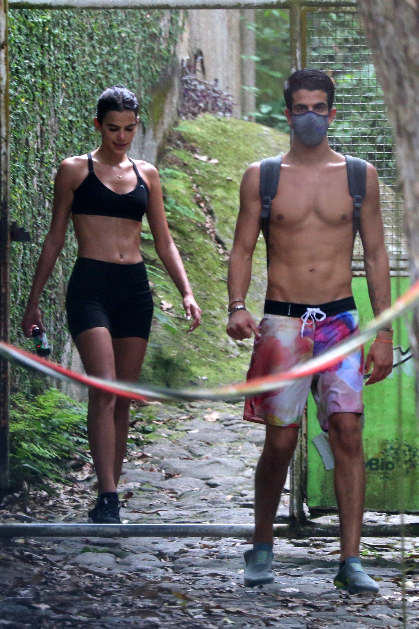 Bruna Marquezine e Enzo Celulari