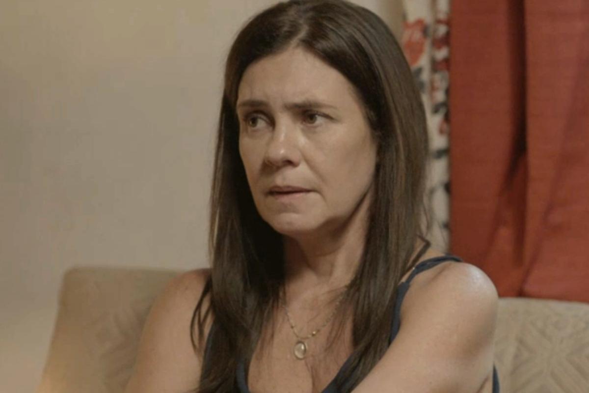 Thelma (Adriana Esteves) em Amor de Mãe - crédito: Globo