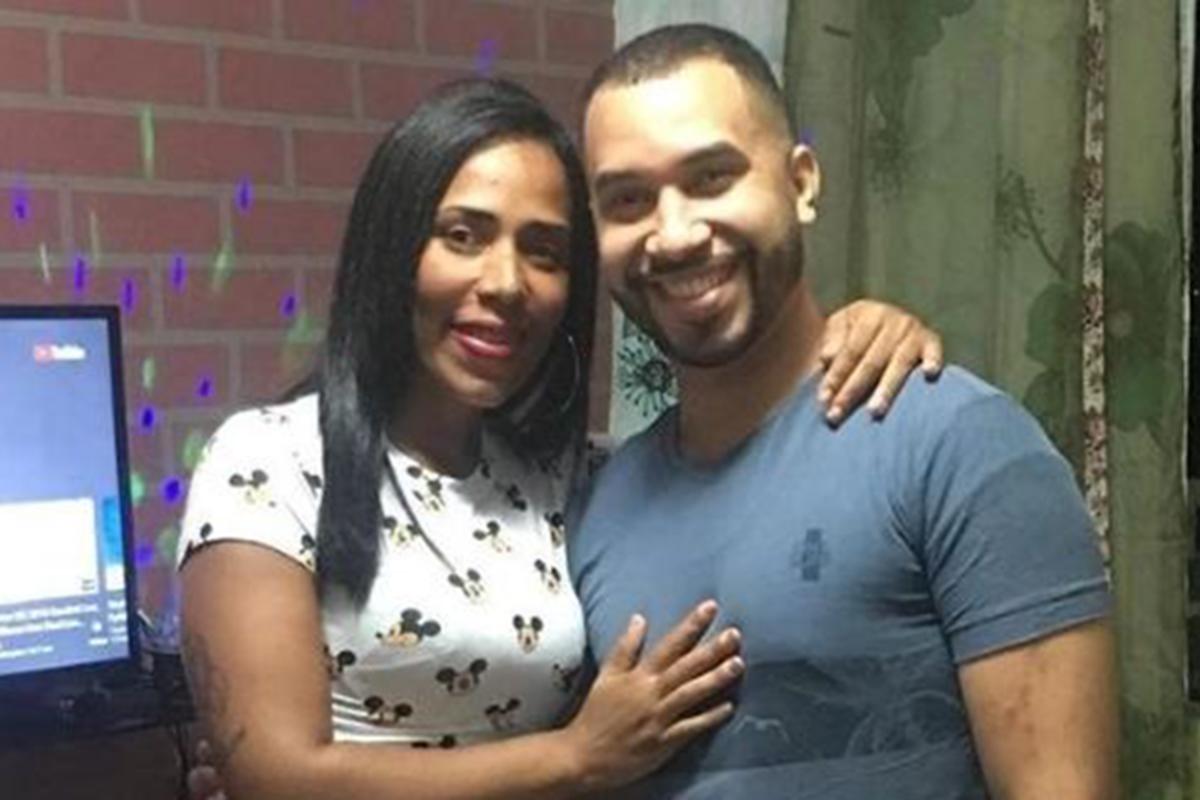 Janielly e Gilberto