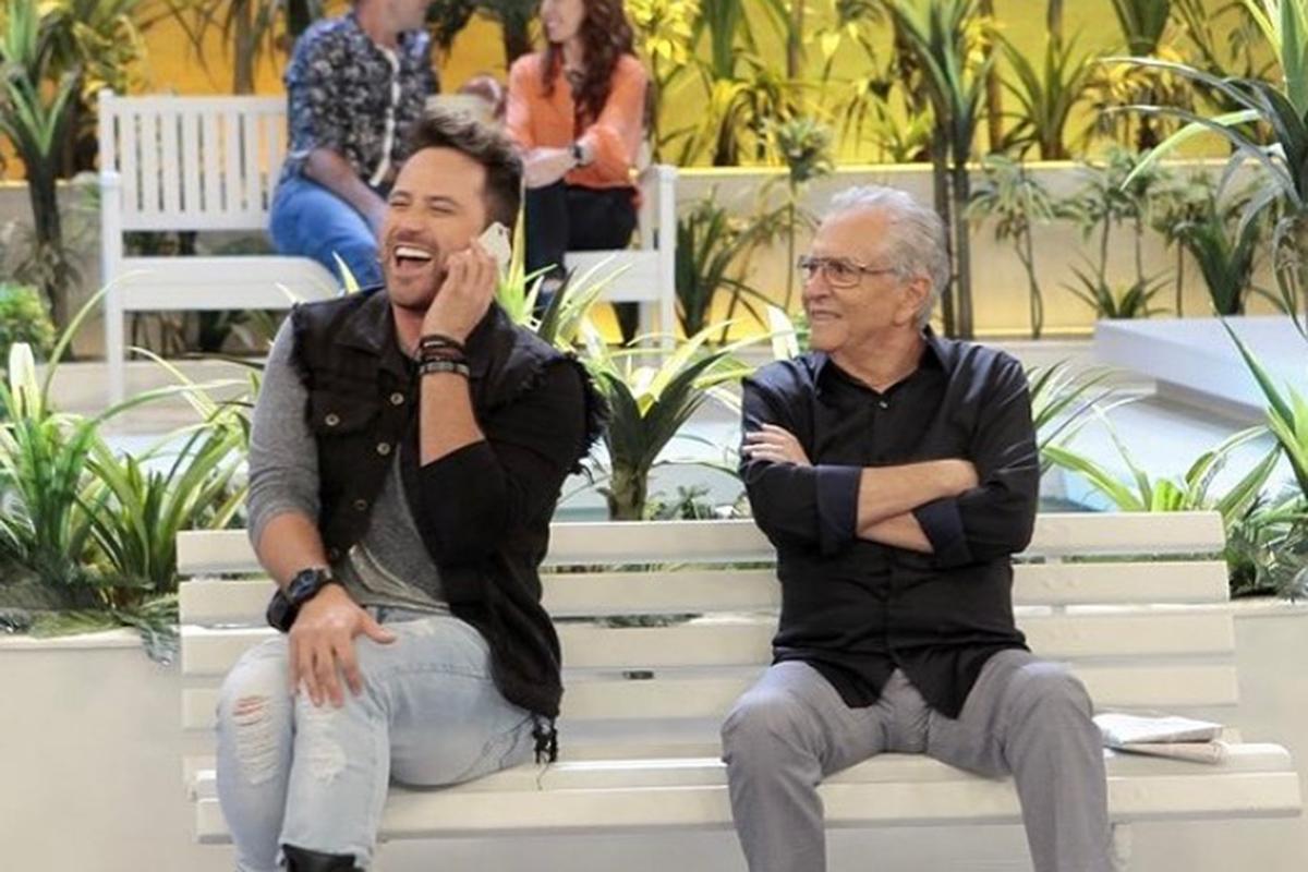 Kleber Lopes e Carlos Alberto de Nóbrega