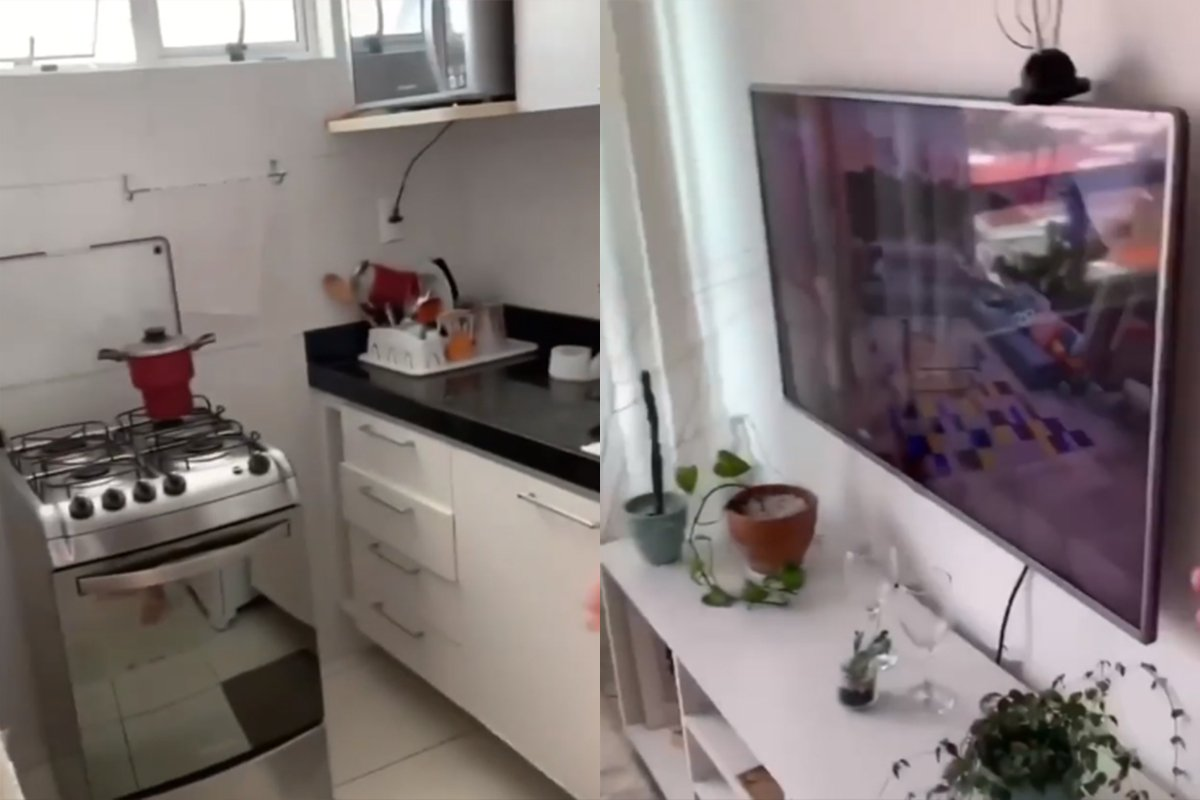 Apartamento de Juliette do BBB21