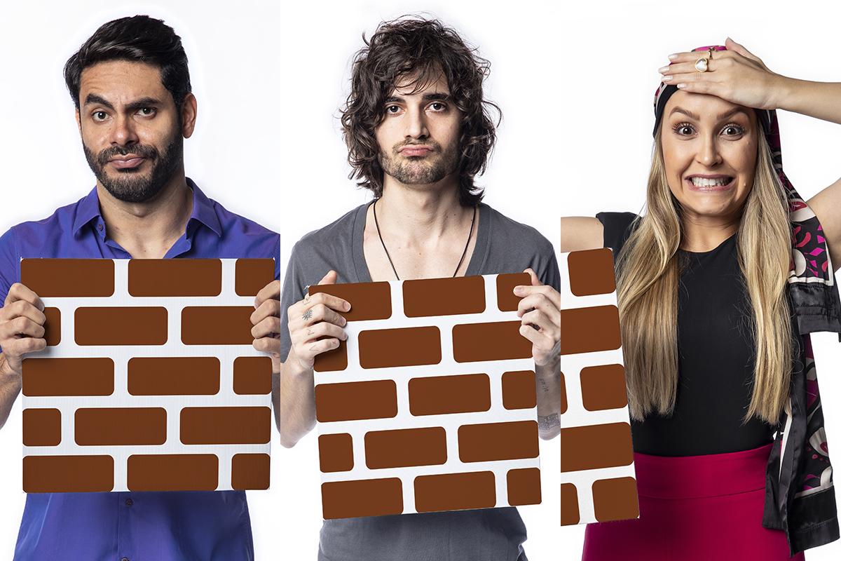 Rodolffo, Fiuk e Carla Diaz