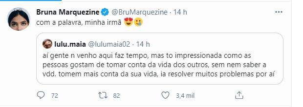 Luana Maia e Bruna Marquezine