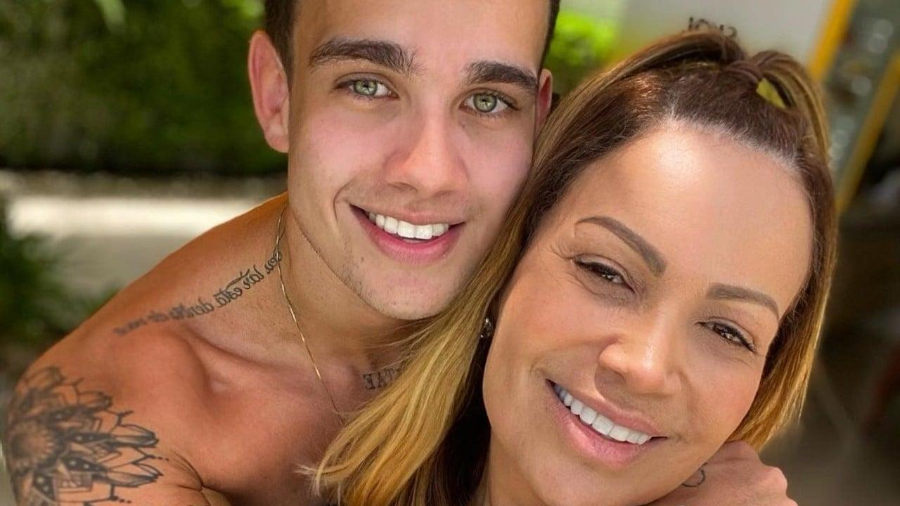 Rafael e Solange Almeida - reprodução - instagram