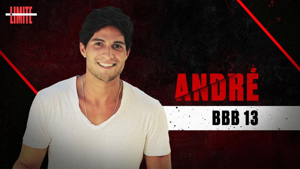 André, BBB13 - Crédito: Globo