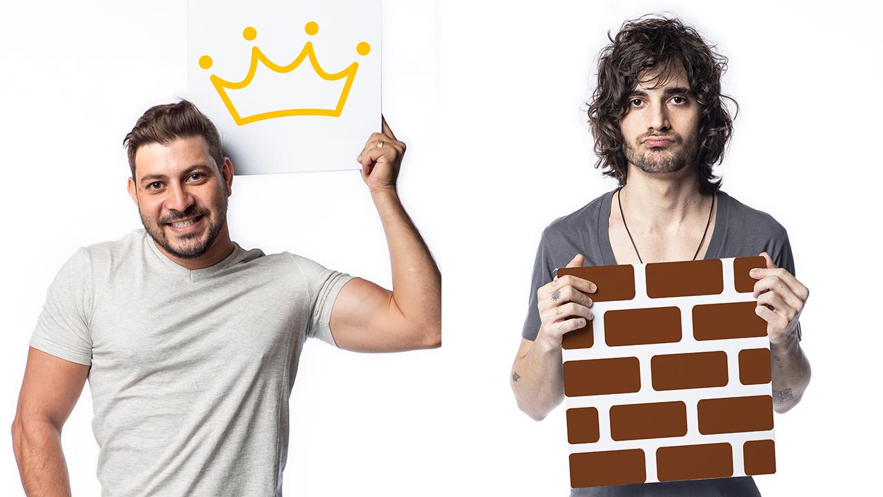 Caio é o líder e Fiuk está no paredão do BBB21