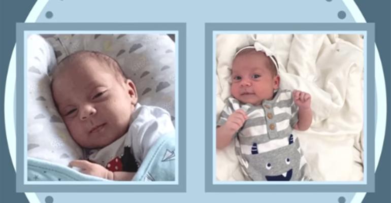 Camilla Camargo apresenta a filha recém-nascida, Julia - Crédito: Reprodução / YouTube