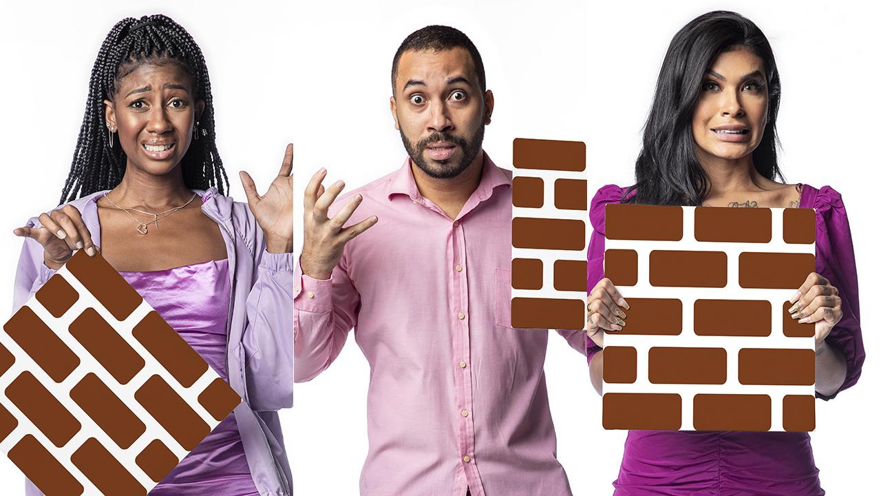 Camilla, Gilberto e Pocah