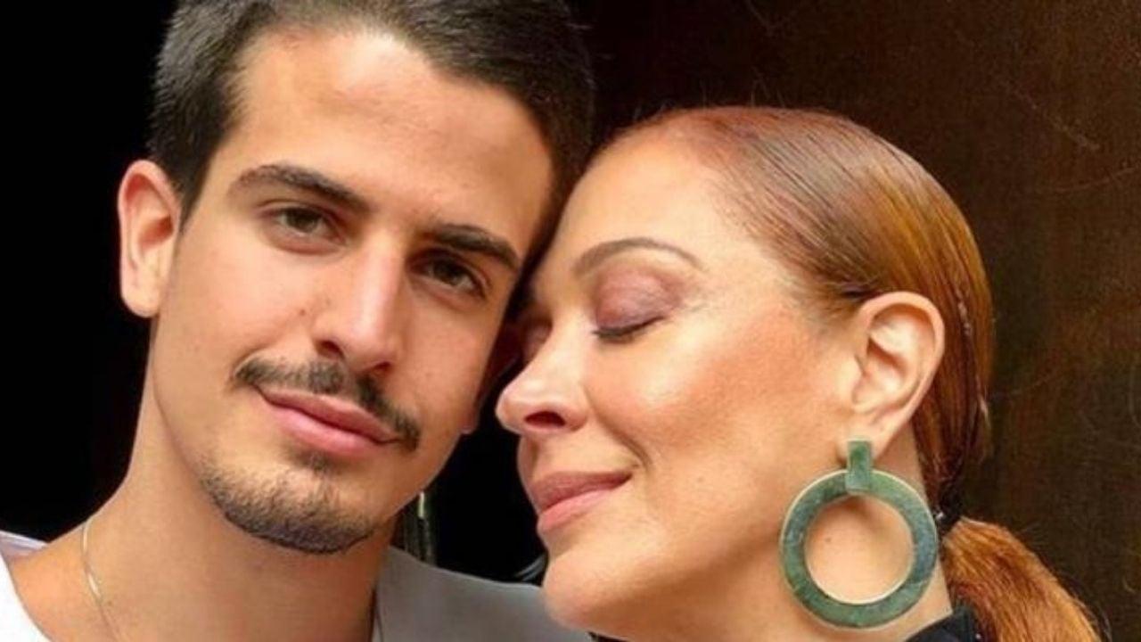 Claudia Raia comemora aniversário de Enzo Celulari