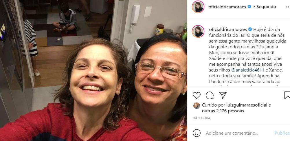 Drica Moraes - Crédito: Reprodução / Instagram