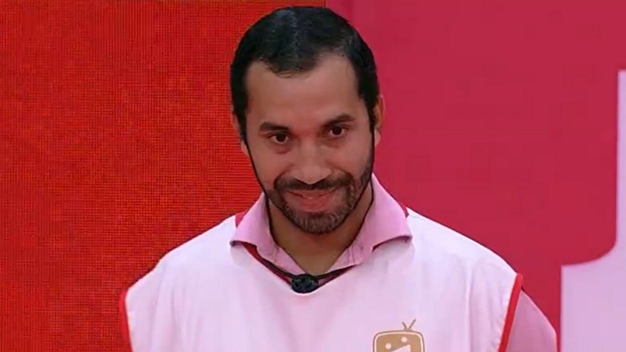Gilberto no paredão do BBB21 - Crédito: Reprodução / Globo