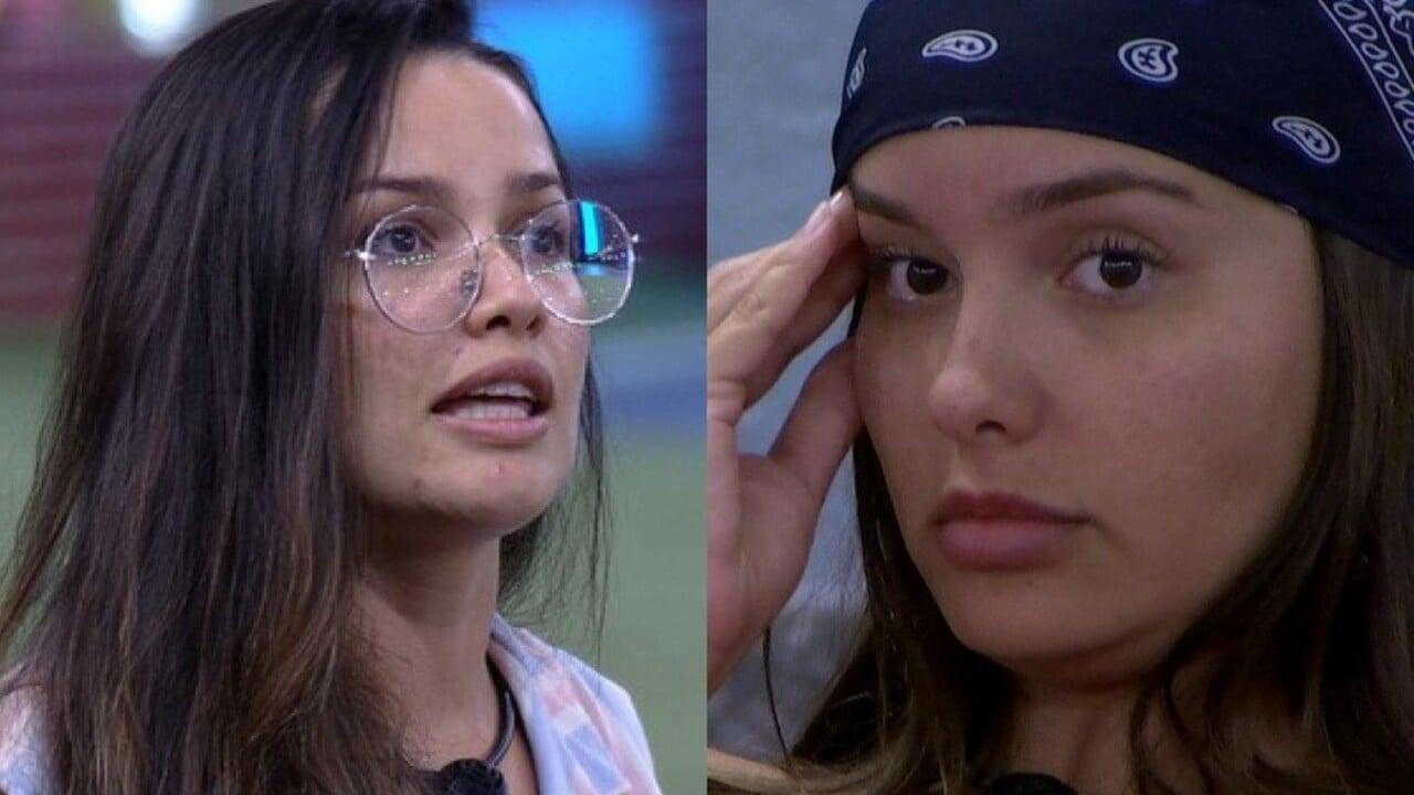 Juliette e Thaís trocam farpas no BBB21