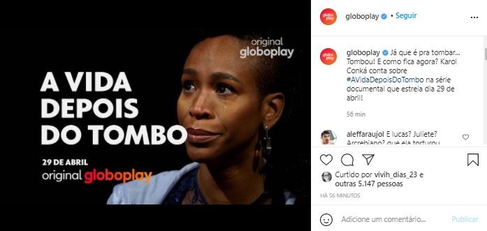 Globo anuncia documentário sobre Karol Conká