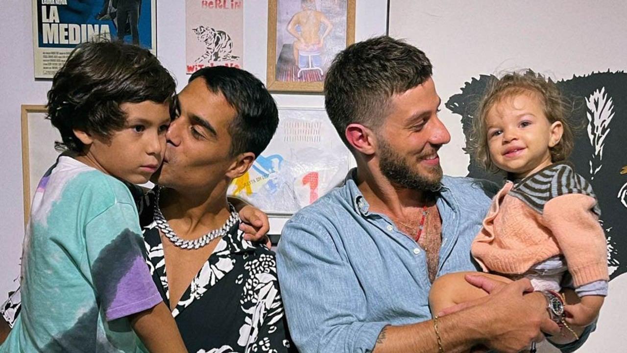 Micael Borges e Chay Suede mostram fotos do reencontro - Crédito: Reprodução / Instagram