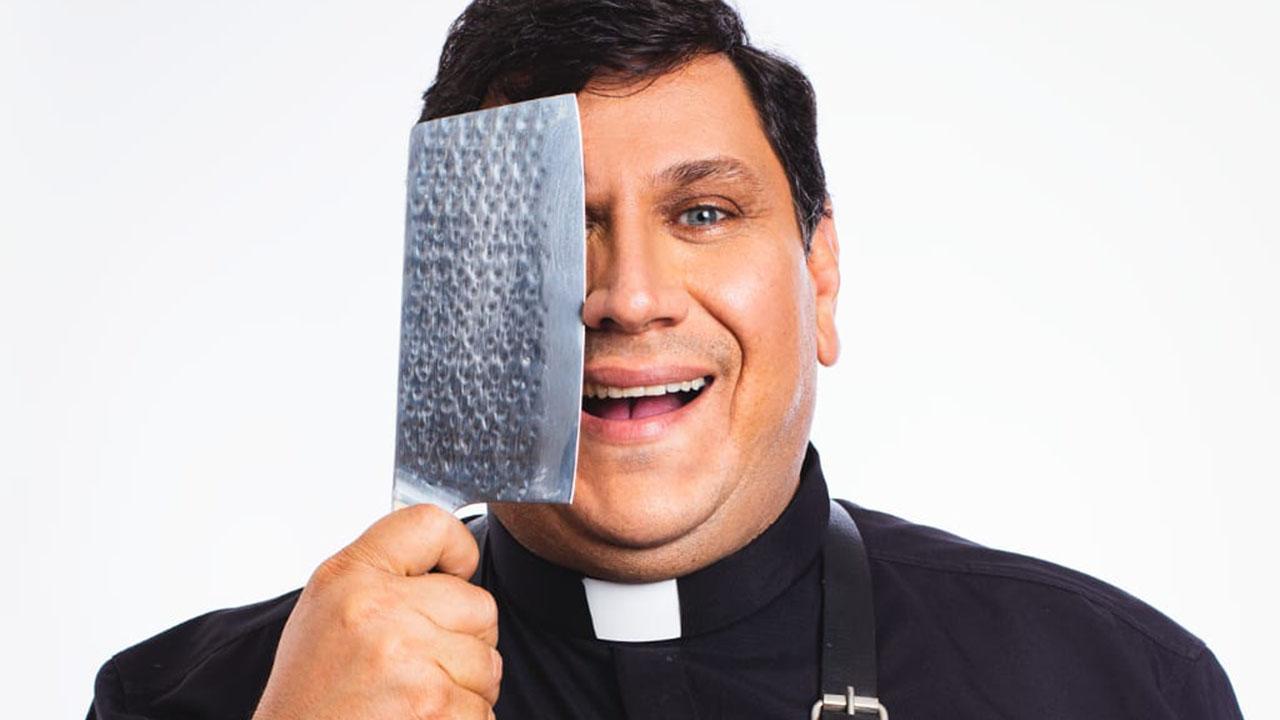 Padre Evandro - Crédito: Juan Ribeiro/Divulgação TV Aparecida
