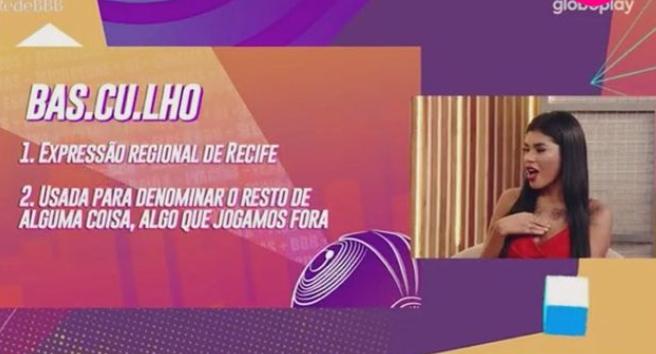 Pocah no programa Rede BBB - Crédito: Reprodução / Globo