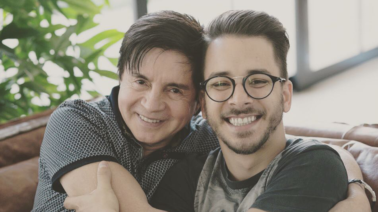 Xororó e o filho, Junior