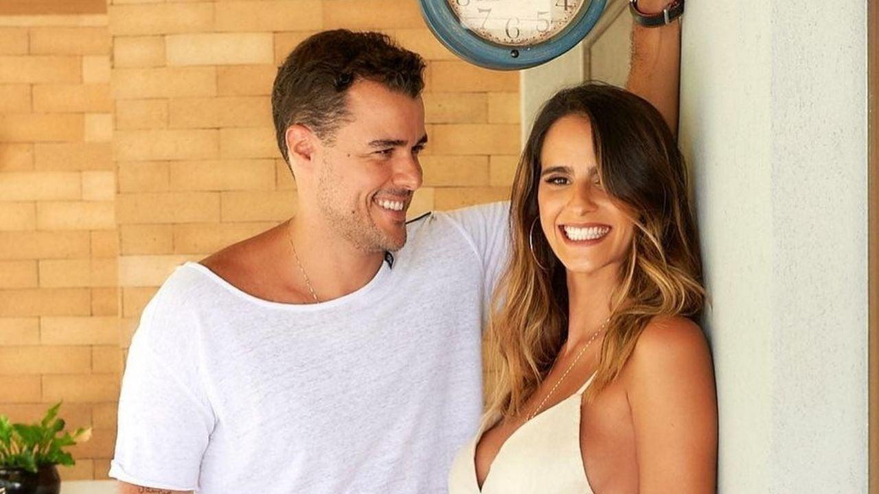 Marcella Fogaça e Joaquim Lopes comemoram mesversário das filhas. Foto: Reprodução/Instagram