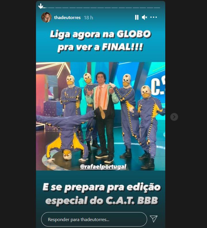 Dummies do BBB21 com Rafael Portugal - Crédito: Reprodução / Instagram