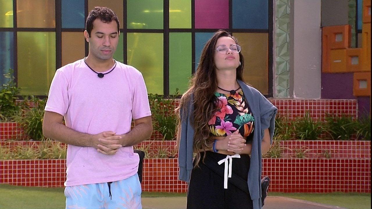 Equipe de Juliette se posiciona sobre paredão e pede eliminação de Gilberto
