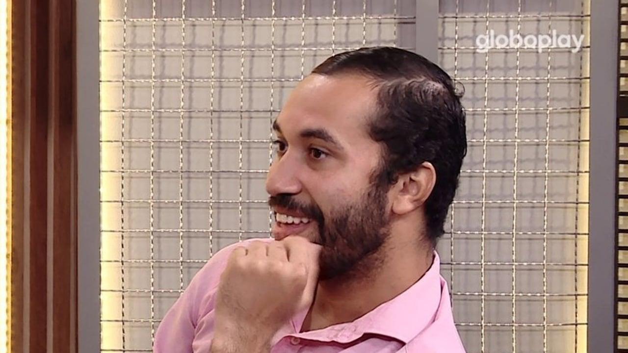 Gilberto no programa Rede BBB - Crédito: Reprodução / Globo