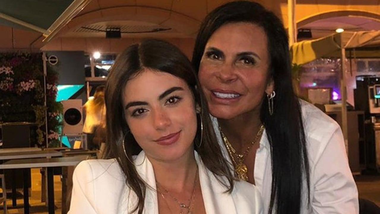 Giullia Miranda e a mãe, Gretchen - Crédito: Reprodução / Instagram