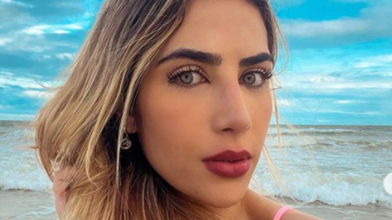 Jéssica Beatriz Costa, filha do cantor Leonardo - Crédito: Reprodução / Instagram