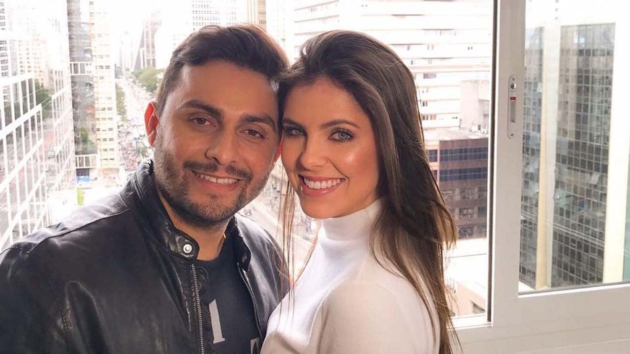 Mano Walter e a esposa, Débora Silva - Crédito: Reprodução / Instagram