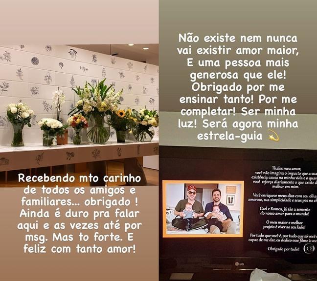 Thales Bretas fala do carinho que recebeu após a morte de Paulo Gustavo - Crédito: Reprodução / Instagram