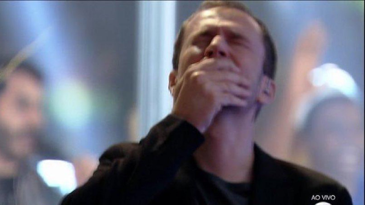 Tiago Leifert chora na final do BBB21 - Crédito: Reprodução / Globo