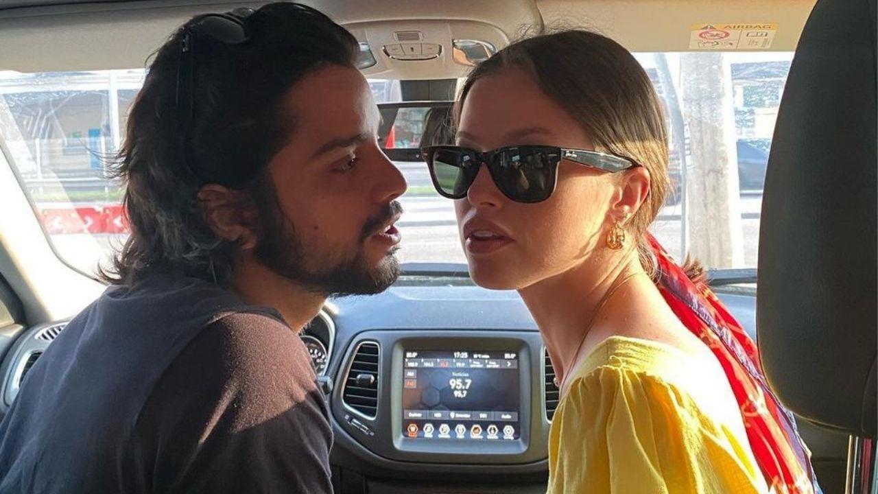 Agatha Moreira e Rodrigo Simas trocam declarações de amor. Foto: Reprodução/Instagram