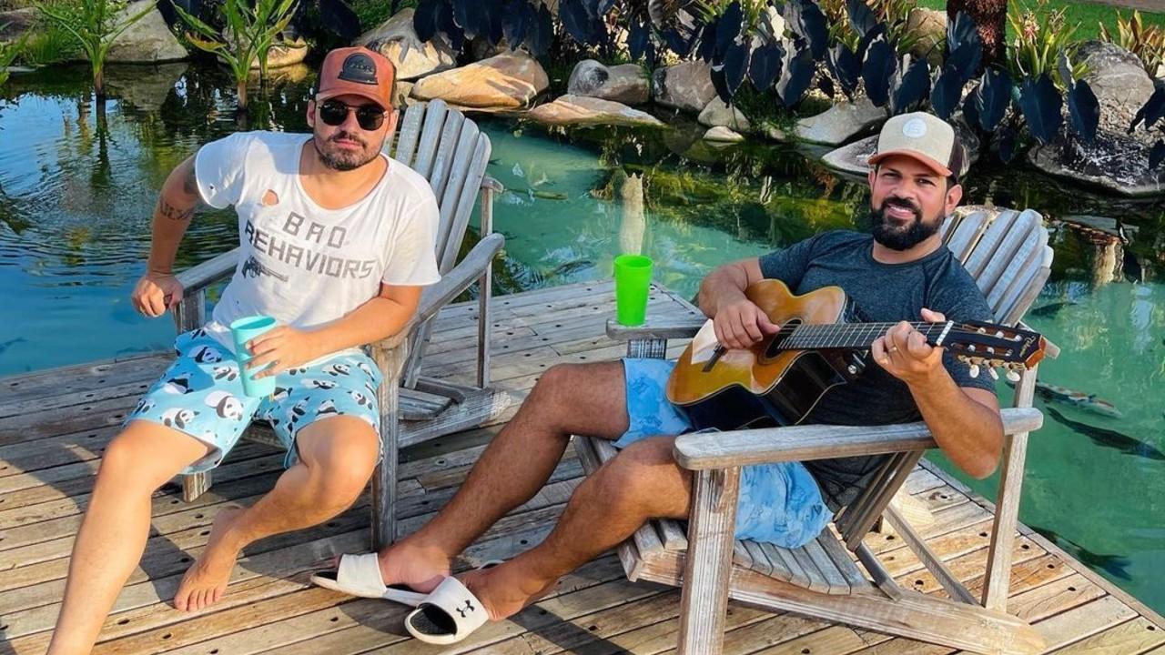 Fernando e Sorocaba - reprodução - instagram