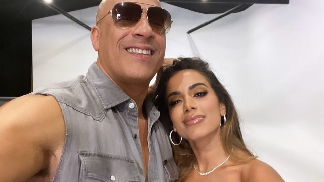 Anitta posta foto com Vin Diesel. Foto: Reprodução/Instagram