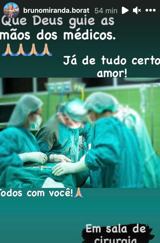 Bruno Miranda, o Borat, faz nova cirurgia - Crédito: Reprodução / Instagram