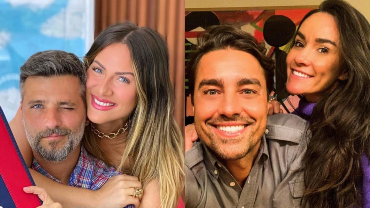 Bruno Gagliasso, Giovanna Ewbank, Ricardo Pereira e Francisca